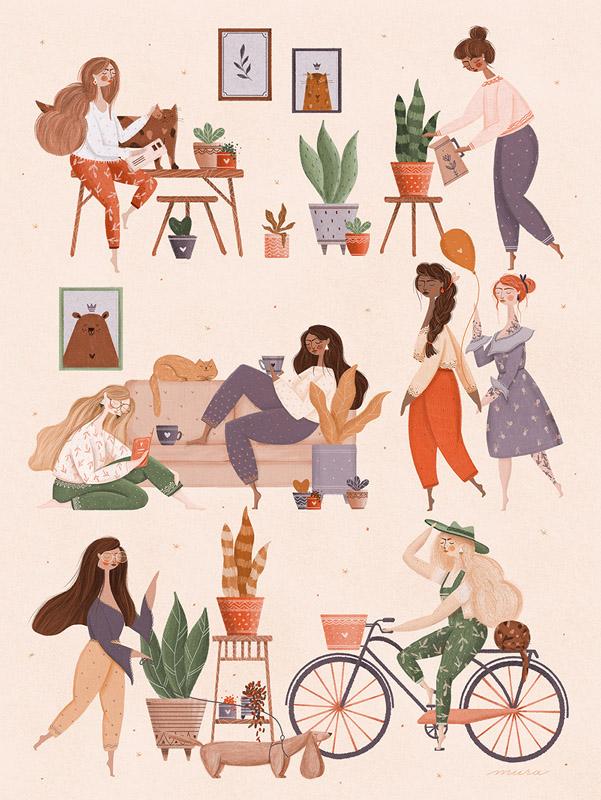 mura, ilustrator roman, cadouri, pop-up shop, printoteca, lista ochisoru