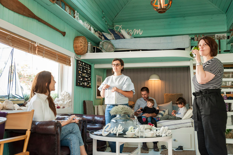 coffee & design, lifestyle events by ochisoru, garden party